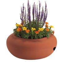 Terra Cotta Garden Hose Pot
