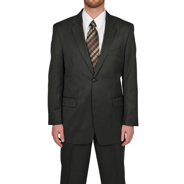 Adolfo Men's Grey 2-button Suit Separate Coat