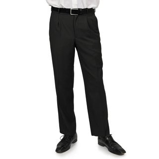 Adolfo Men's Black Stripe Suit Separate Pants