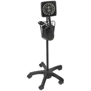 Sterling Floor-Type Latex-Free Clock Aneroid Sphygmomanometer