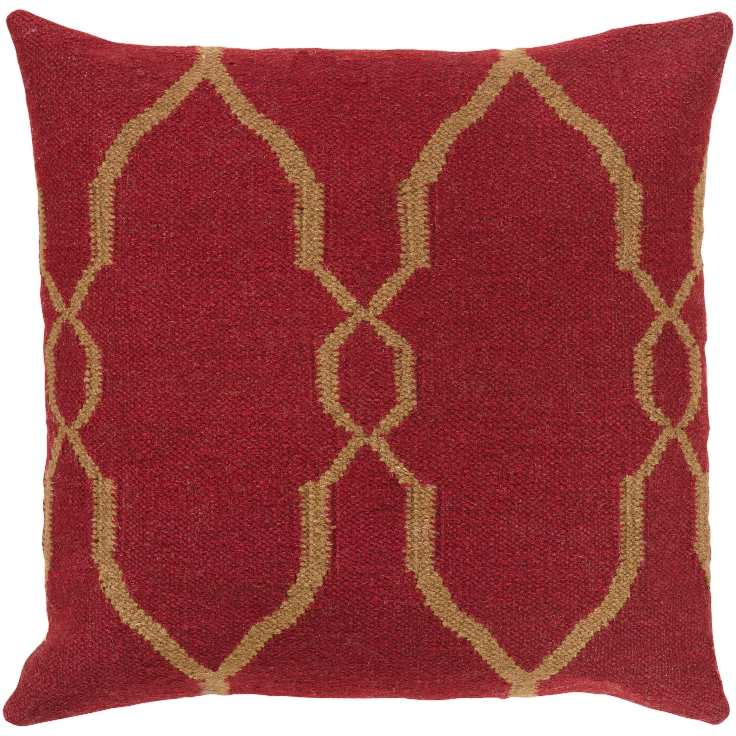Decorative Faz 18-inch Decorative Pillow