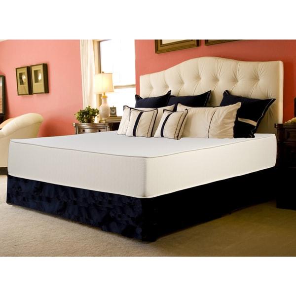 Select Luxury Reversible Medium Firm 10-inch King-size Foam Mattress