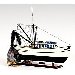 Old Modern Handicrafts Shrimp Boat Model