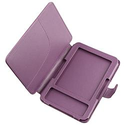 INSTEN Purple Leather Phone Case Cover for Amazon Kindle 3 - Thumbnail 2