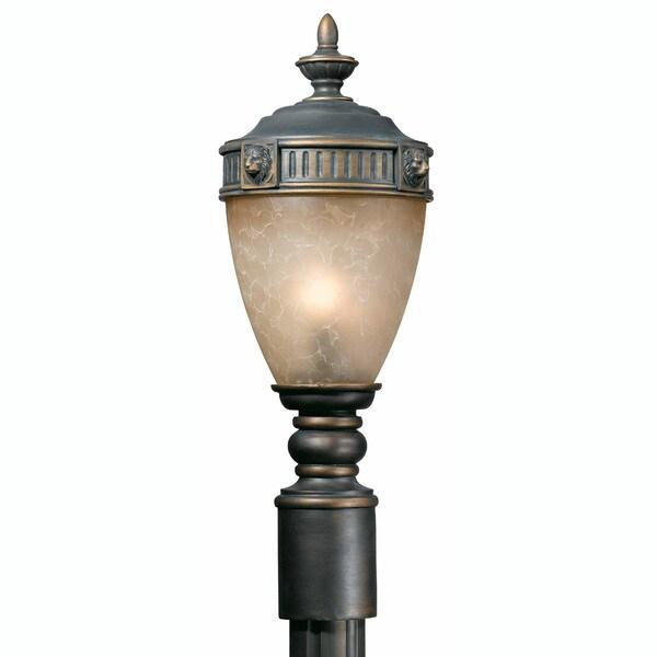 Triarch International Lion 1-light Outdoor Post Head Light