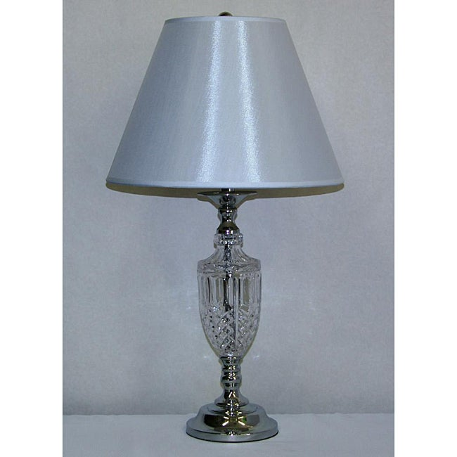 Light Cut Glass Table Lamp - Thumbnail 0