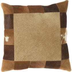 Decorative Carroll Down-Filled Reversible Pillow