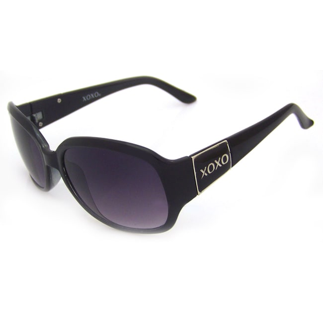 XOXO Women's 'Corsica Black' Fashion Sunglasses