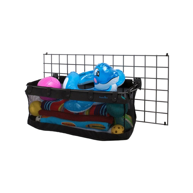 Organized Living freedomRail Black Mesh Sports Basket