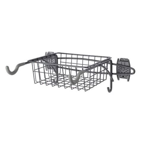 Organized Living freedomRail Granite Bike Rack with Basket