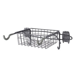 Organized Living freedomRail Granite Bike Rack with Basket