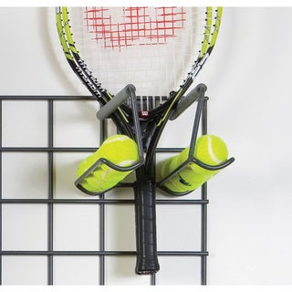 Organized Living freedomRail Granite Racquet Rack