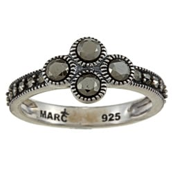 MARC Sterling Silver Pave-set Marcasite Ring