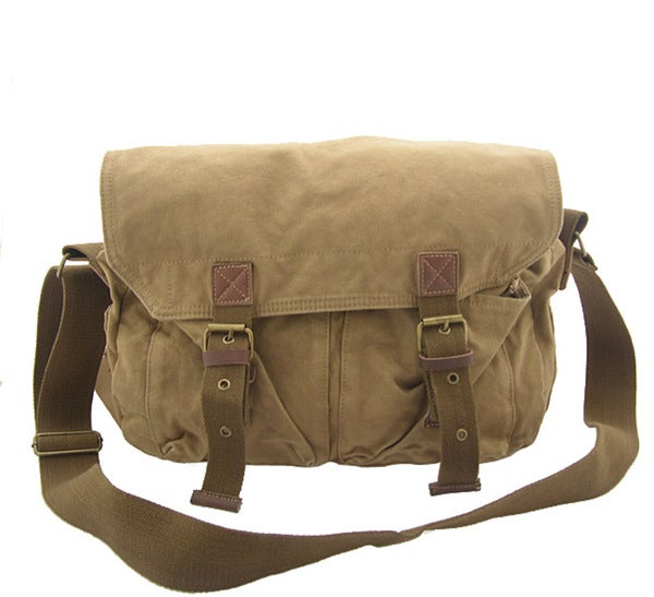 Vintage Schoudertas Heren : The correspondent bag by rakuda free shipping today