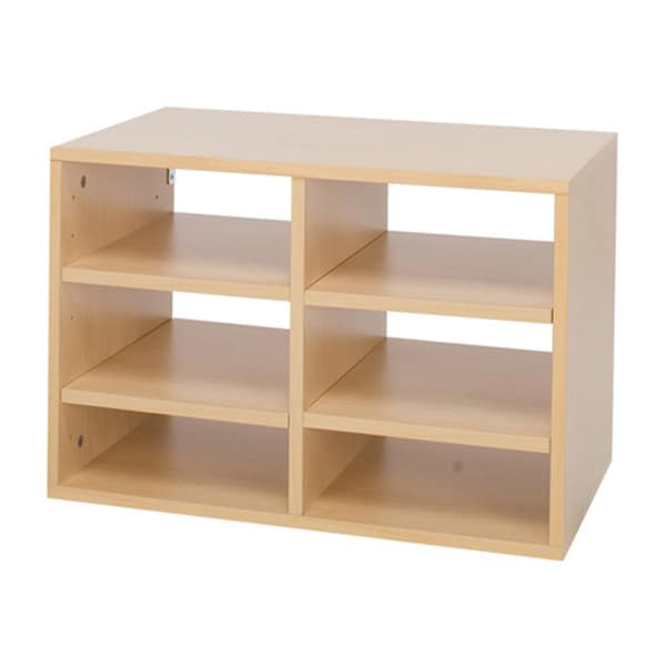 Organized Living freedomRail O-Box Maple Paper Sorter Insert