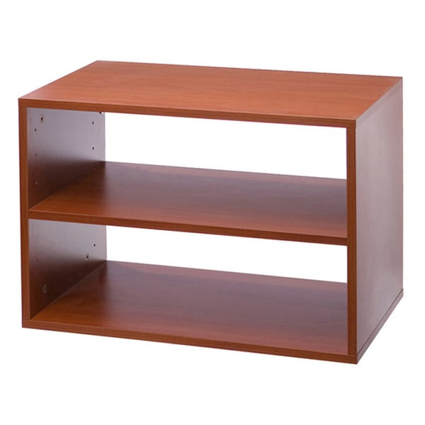 Organized Living freedomRail Cherry O-Box Shelf Unit