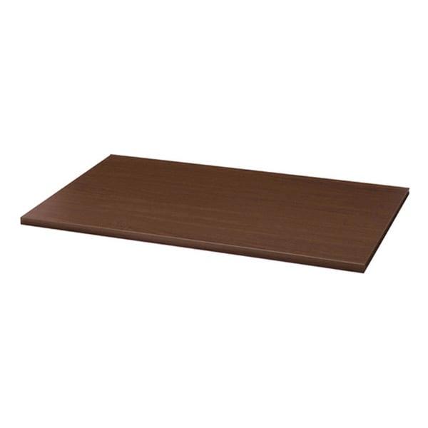Organized Living freedomRail Chocolate Pear Shelf (48 x 12)