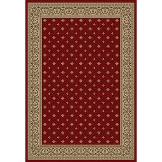 Hudson Terrace Red Area Rug (5'3 x 7'3)