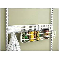 Organized Living freedomRail White 24-inch Spanner