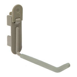 Organized Living freedomRail O Nickel Utility Hook (Pack of 4)