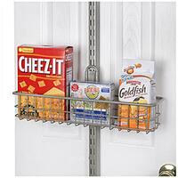 Organized Living freedomRail Nickel Storage Basket (18 x 4)