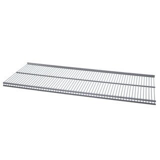 Organized Living freedomRail Nickel Ventilated Shelf (24 x 16)