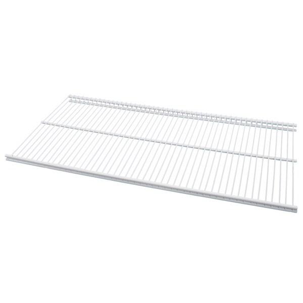 Organized Living freedomRail White Ventilated Shelf (30 x 16)