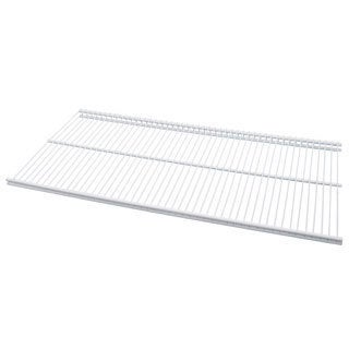 Organized Living freedomRail White Ventilated Shelf (30 x 16)