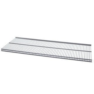 Organized Living freedomRail Nickel Ventilated Shelf (48 x 12)