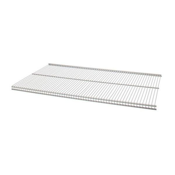 Organized Living freedomRail Nickel Ventilated Shelf (36 x 12)