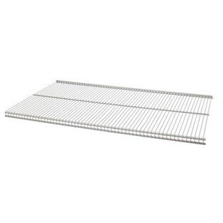 Organized Living freedomRail Nickel Ventilated Shelf (36 x 12)
