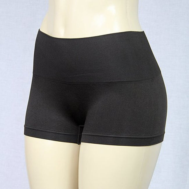 d9b039fff0 Shop Jennifer Intimates Women s Brown High Waist Boyshorts - Free Shipping  On Orders Over  45 - Overstock - 6416022