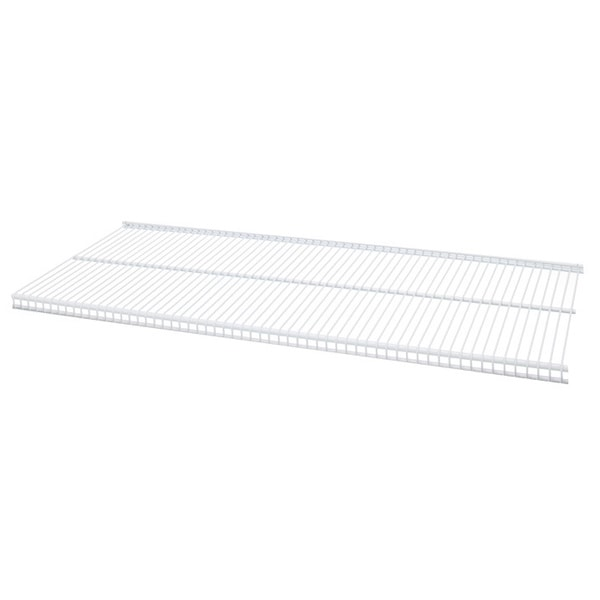Shop Organized Living Freedomrail White Ventilated Shelf