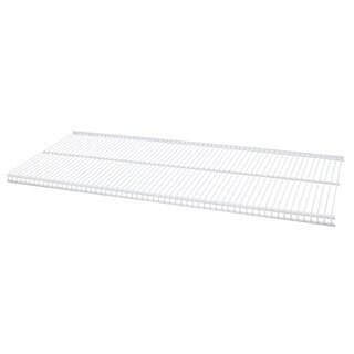Organized Living freedomRail White Ventilated Shelf (48 x 12)