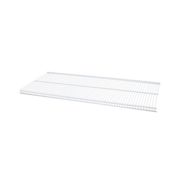 Organized Living freedomRail White Ventilated Shelf (30 x 12)