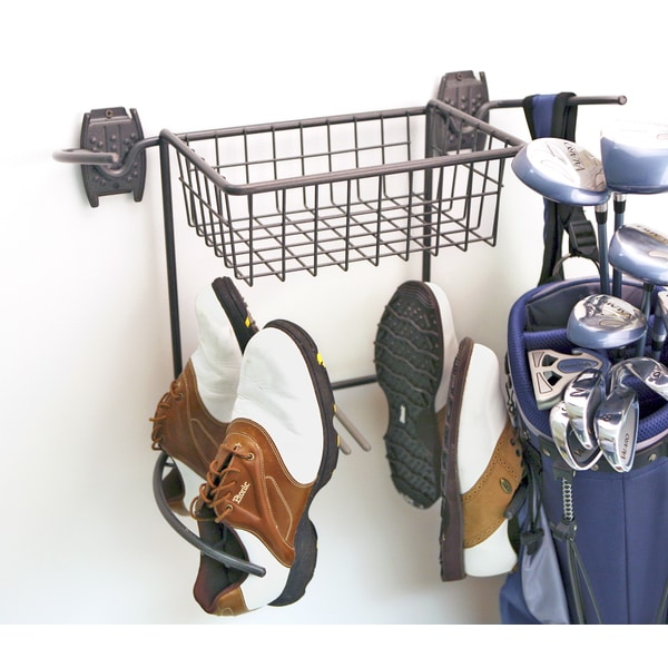 Organized Living freedomRail Granite Golf Rack and Basket