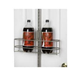 Organized Living freedomRail Nickel Over the Door Large Can Holder