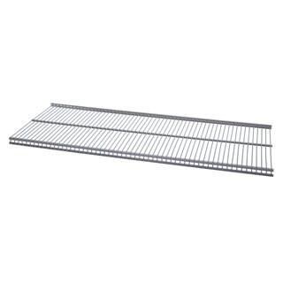 Organized Living freedomRail Nickel Ventilated Shelf (30 x 12)