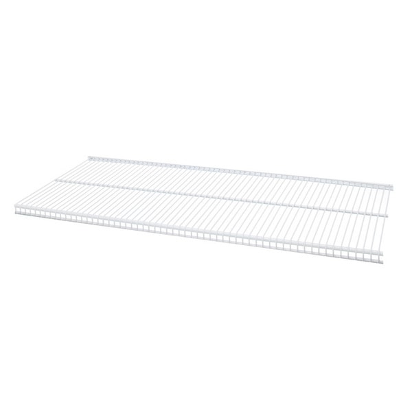 Organized Living freedomRail White Ventilated Shelf (24 x 12)