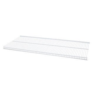 Organized Living freedomRail White Ventilated Shelf (24 x 12)