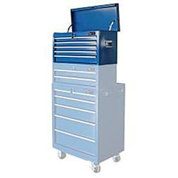Excel 26-inch Five Ball Bearing Slide Drawers Top Tool Chest - Thumbnail 1