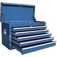 Excel 26-inch Five Ball Bearing Slide Drawers Top Tool Chest