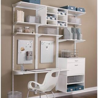 Organized Living freedomRail 10.5-inch White Wood Bracket