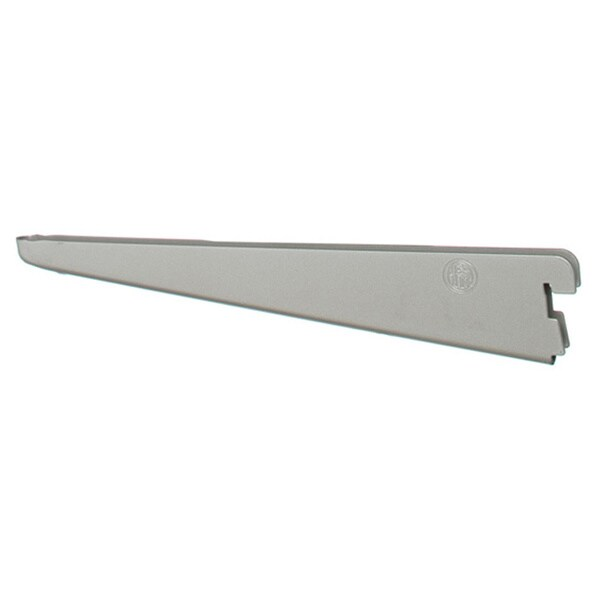 Organized Living freedomRail 6.5-inch Nickel Wood Bracket