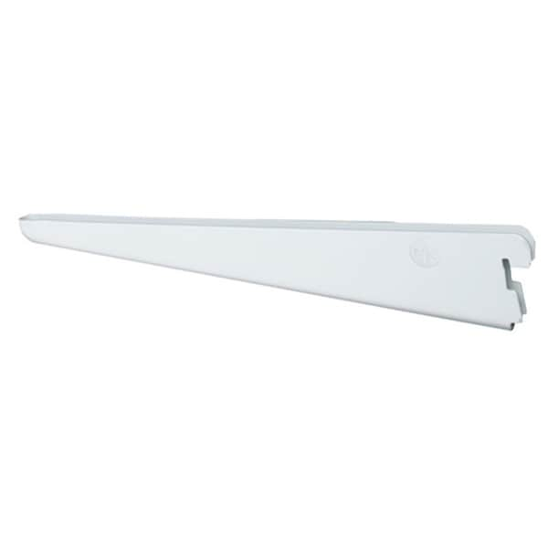 Organized Living freedomRail 6.5-inch White Wood Bracket