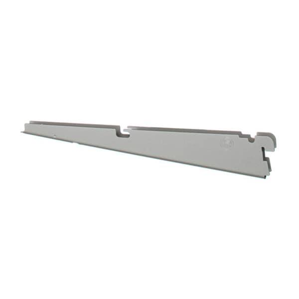 Organized Living freedomRail Nickel Ventilated Bracket (12 Inches)