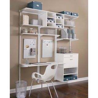 Organized Living freedomRail 48-inch White Upright