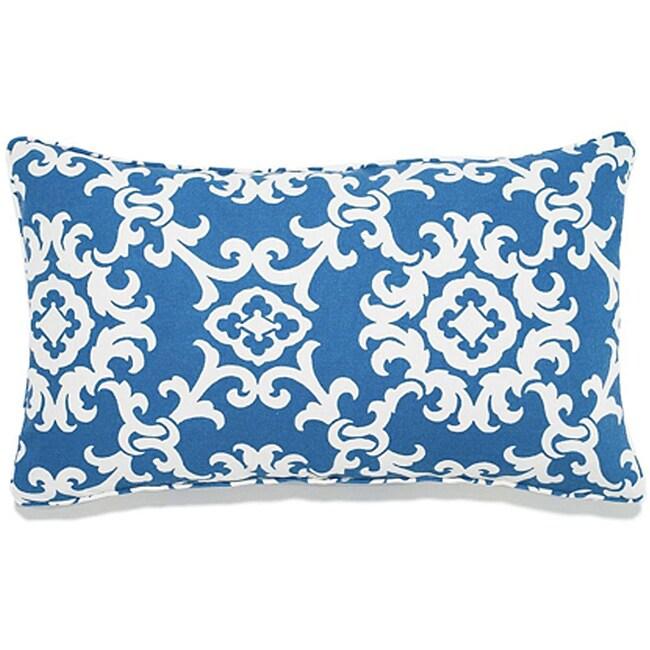 Alvin Blue 12x20 Outdoor Pillow