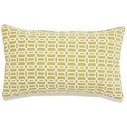 12 x 20-inch Mosaic Green Outdoor Pillow