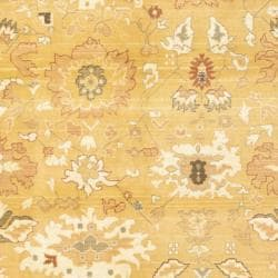 Safavieh Oushak Gold/ Gold Powerloomed Rug (8' x 11')